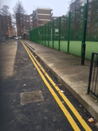 Completion of Britannia Walk sewer alterations