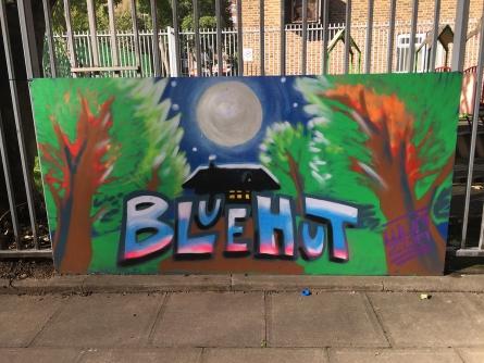Blue Hut in Hackney